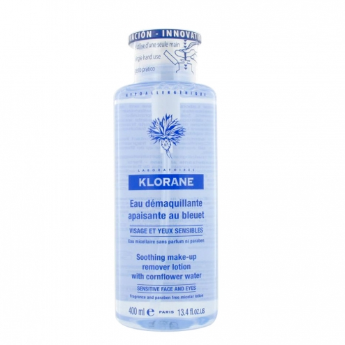 klorane eau nettoyante bleuet